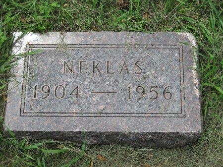 NELSON, NEKLAS - Roberts County, South Dakota   NEKLAS NELSON - South Dakota Gravestone Photos