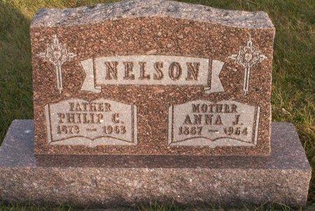 NELSON, ANN J. - Roberts County, South Dakota   ANN J. NELSON - South Dakota Gravestone Photos