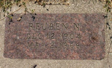 NELSON, REUBEN N - Roberts County, South Dakota   REUBEN N NELSON - South Dakota Gravestone Photos