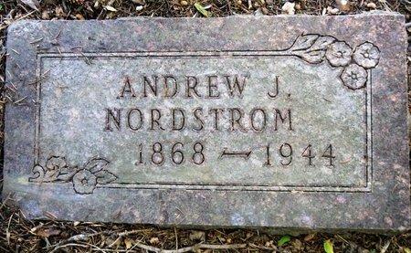 NORDSTROM, ANDREW J. - Roberts County, South Dakota | ANDREW J. NORDSTROM - South Dakota Gravestone Photos