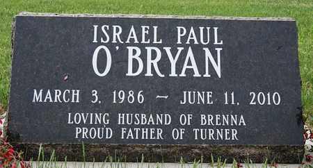 O'BRYAN, ISRAEL PAUL - Roberts County, South Dakota   ISRAEL PAUL O'BRYAN - South Dakota Gravestone Photos