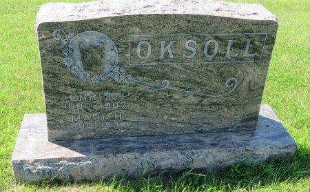 OKSOLL, CHRIST - Roberts County, South Dakota | CHRIST OKSOLL - South Dakota Gravestone Photos