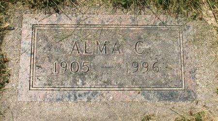 OLSON, ALMA C. - Roberts County, South Dakota | ALMA C. OLSON - South Dakota Gravestone Photos