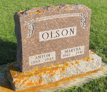 OLSON, MARTHA - Roberts County, South Dakota | MARTHA OLSON - South Dakota Gravestone Photos