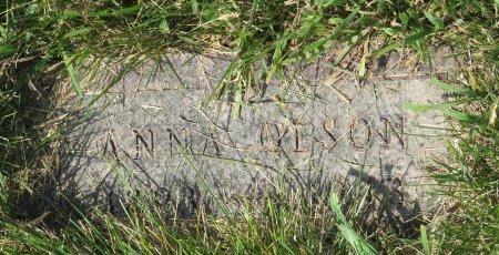 OLSON, ANNA - Roberts County, South Dakota | ANNA OLSON - South Dakota Gravestone Photos