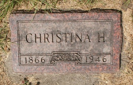 OLSON, CHRISTINA H - Roberts County, South Dakota | CHRISTINA H OLSON - South Dakota Gravestone Photos