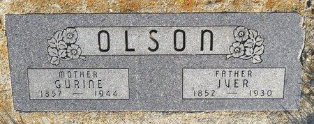 OLSON, GURINE - Roberts County, South Dakota | GURINE OLSON - South Dakota Gravestone Photos