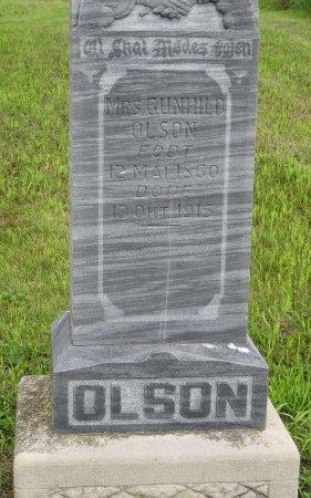 OLSON, GUNHILD - Roberts County, South Dakota   GUNHILD OLSON - South Dakota Gravestone Photos
