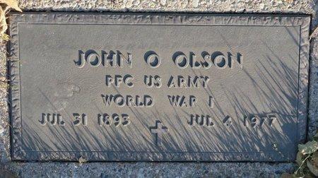 OLSON, JOHN - Roberts County, South Dakota | JOHN OLSON - South Dakota Gravestone Photos