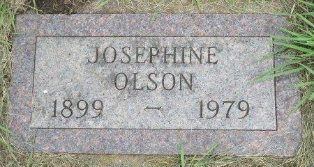 OLSON, JOSEPHINE - Roberts County, South Dakota | JOSEPHINE OLSON - South Dakota Gravestone Photos