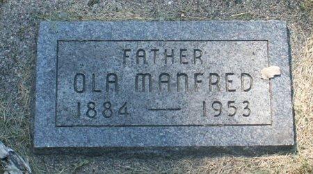 OLSON, OLA MANFRED - Roberts County, South Dakota   OLA MANFRED OLSON - South Dakota Gravestone Photos
