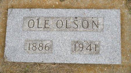 OLSON, OLE - Roberts County, South Dakota | OLE OLSON - South Dakota Gravestone Photos
