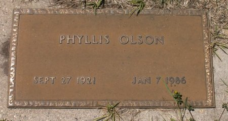 OLSON, PHYLLIS - Roberts County, South Dakota   PHYLLIS OLSON - South Dakota Gravestone Photos