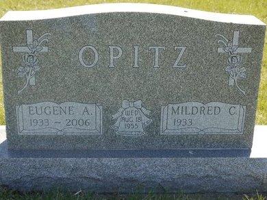 OPITZ, EUGENE A. - Roberts County, South Dakota   EUGENE A. OPITZ - South Dakota Gravestone Photos