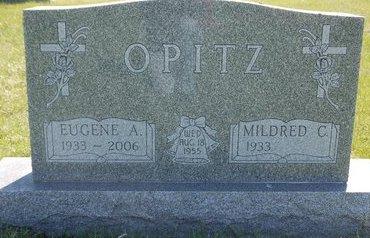 SCHAUNAMAN OPITZ, MILDRED C. - Roberts County, South Dakota | MILDRED C. SCHAUNAMAN OPITZ - South Dakota Gravestone Photos