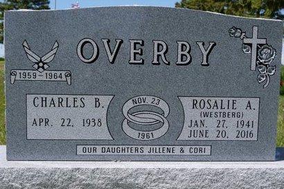 OVERBY, ROSALIE A. - Roberts County, South Dakota | ROSALIE A. OVERBY - South Dakota Gravestone Photos