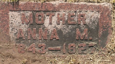 PETERSON, ANNA M. - Roberts County, South Dakota | ANNA M. PETERSON - South Dakota Gravestone Photos