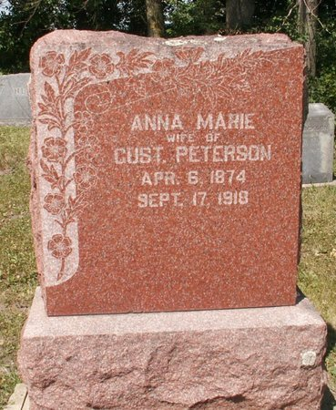 PETERSON, ANNA MARIE - Roberts County, South Dakota | ANNA MARIE PETERSON - South Dakota Gravestone Photos