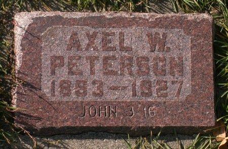 PETERSON, AXEL W. - Roberts County, South Dakota | AXEL W. PETERSON - South Dakota Gravestone Photos