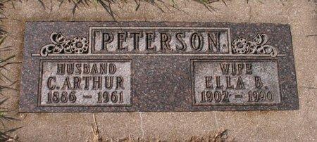 PETERSON, C. ARTHUR - Roberts County, South Dakota | C. ARTHUR PETERSON - South Dakota Gravestone Photos
