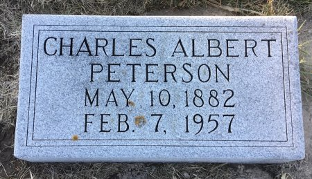 PETERSON, CHARLES ALBERT - Roberts County, South Dakota | CHARLES ALBERT PETERSON - South Dakota Gravestone Photos