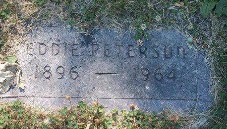 PETERSON, EDDIE - Roberts County, South Dakota   EDDIE PETERSON - South Dakota Gravestone Photos