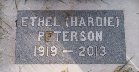 PETERSON, ETHEL - Roberts County, South Dakota | ETHEL PETERSON - South Dakota Gravestone Photos