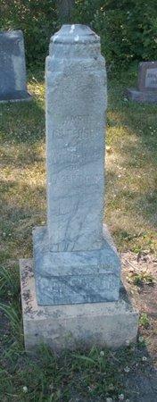PETERSON, KARIN - Roberts County, South Dakota | KARIN PETERSON - South Dakota Gravestone Photos