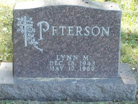 PETERSON, LYNN M - Roberts County, South Dakota | LYNN M PETERSON - South Dakota Gravestone Photos