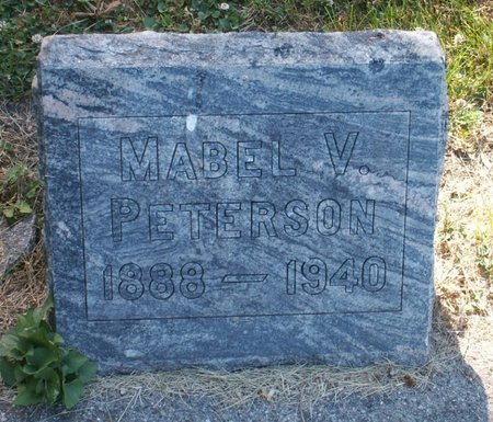 PETERSON, MABEL V. - Roberts County, South Dakota | MABEL V. PETERSON - South Dakota Gravestone Photos