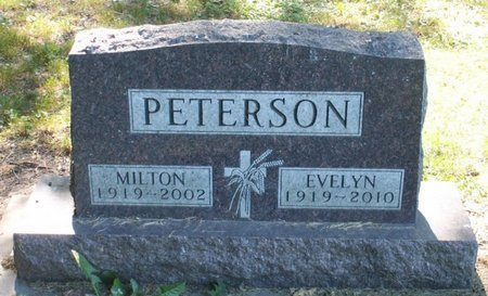PETERSON, MILTON - Roberts County, South Dakota | MILTON PETERSON - South Dakota Gravestone Photos