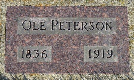 PETERSON, OLE - Roberts County, South Dakota | OLE PETERSON - South Dakota Gravestone Photos