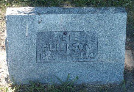 PETERSON, PETE - Roberts County, South Dakota | PETE PETERSON - South Dakota Gravestone Photos