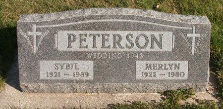 PETERSON, MERLYN - Roberts County, South Dakota   MERLYN PETERSON - South Dakota Gravestone Photos