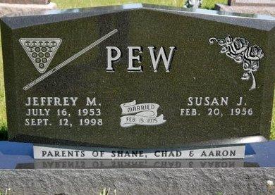 PEW, JEFFREY M. - Roberts County, South Dakota   JEFFREY M. PEW - South Dakota Gravestone Photos