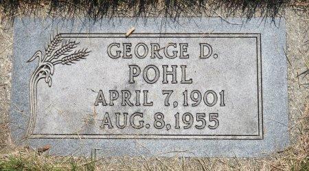 POHL, GEORGE D. - Roberts County, South Dakota   GEORGE D. POHL - South Dakota Gravestone Photos