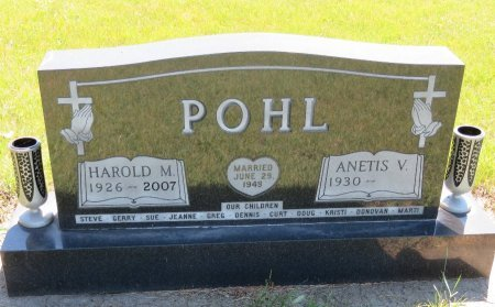 POHL, ANETIS V. - Roberts County, South Dakota | ANETIS V. POHL - South Dakota Gravestone Photos