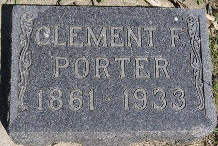 PORTER, CLEMENT F. - Roberts County, South Dakota | CLEMENT F. PORTER - South Dakota Gravestone Photos