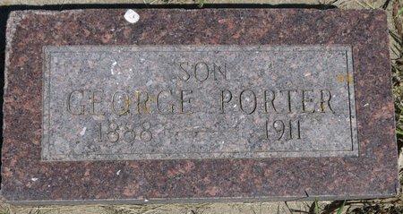 PORTER, GEORGE - Roberts County, South Dakota   GEORGE PORTER - South Dakota Gravestone Photos