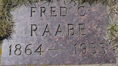 RAABE, FRED C. - Roberts County, South Dakota | FRED C. RAABE - South Dakota Gravestone Photos