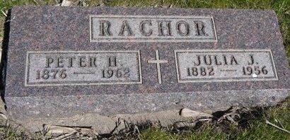 RACHOR, PETER H. - Roberts County, South Dakota | PETER H. RACHOR - South Dakota Gravestone Photos