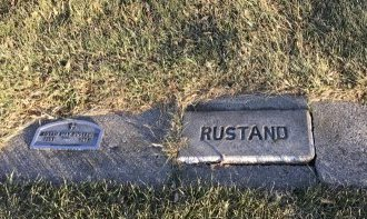 SWAYZE RUSTAND, LOTTIE MAY - Roberts County, South Dakota | LOTTIE MAY SWAYZE RUSTAND - South Dakota Gravestone Photos