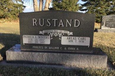 WINTERS RUSTAND, PATRICIA ANN - Roberts County, South Dakota | PATRICIA ANN WINTERS RUSTAND - South Dakota Gravestone Photos