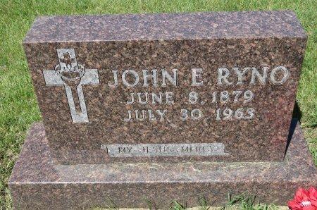 RYNO, JOHN E. - Roberts County, South Dakota | JOHN E. RYNO - South Dakota Gravestone Photos