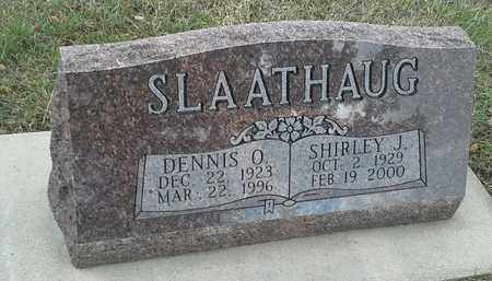 SLAATHAUG, DENNIS O - Roberts County, South Dakota | DENNIS O SLAATHAUG - South Dakota Gravestone Photos