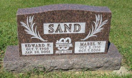 SAND, EDWARD F. - Roberts County, South Dakota | EDWARD F. SAND - South Dakota Gravestone Photos