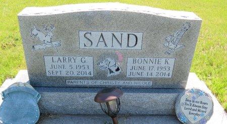 SAND, LARRY G. - Roberts County, South Dakota | LARRY G. SAND - South Dakota Gravestone Photos