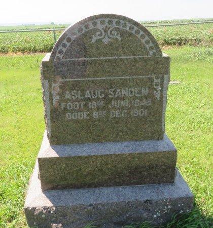 SANDEN, ASLAUG - Roberts County, South Dakota   ASLAUG SANDEN - South Dakota Gravestone Photos