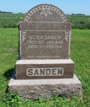 SANDEN, OSTEN - Roberts County, South Dakota | OSTEN SANDEN - South Dakota Gravestone Photos