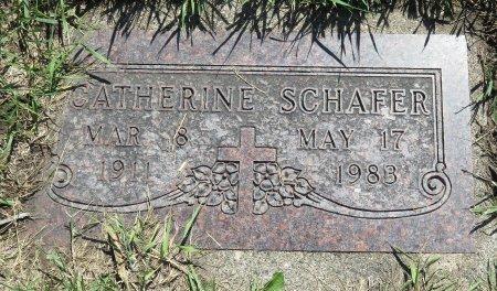 SCHAFER, CATHERINE - Roberts County, South Dakota | CATHERINE SCHAFER - South Dakota Gravestone Photos